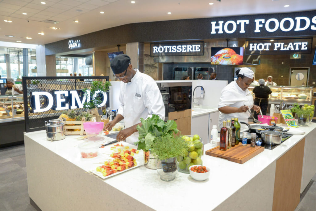 Pick N Pay supermarket retail design South Africa